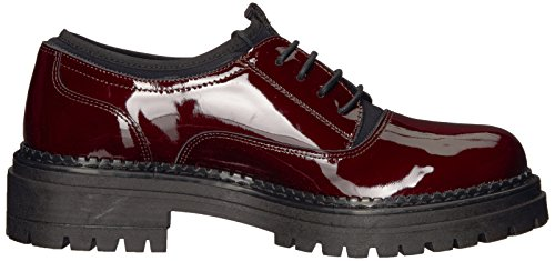 Shellys Londres Womens Kemper Oxford Bourgogne