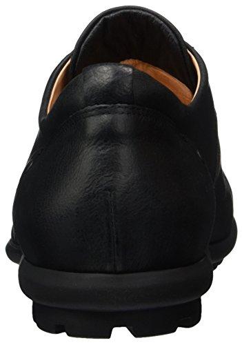Think Kong, Zapatos de Cordones Derby para Hombre Schwarz (Schwarz 00)