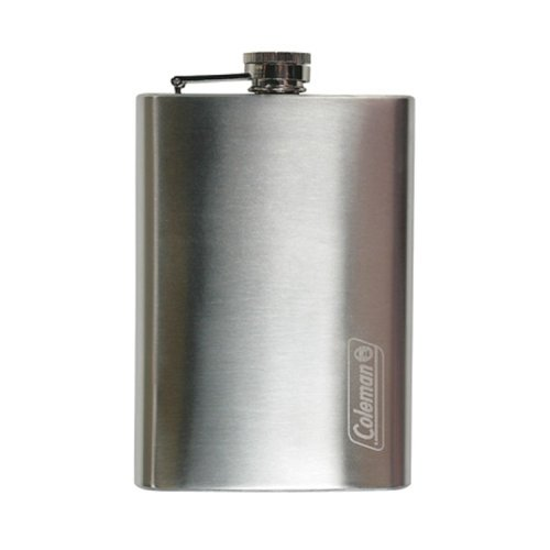 Coleman 8-Oz. Stainless Steel Flask Outfitter Stainless Steel Cookware