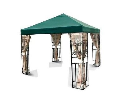 New Canopy Top - 1 Tier(10x10)-016 sun shade Series (Green, 10x10)