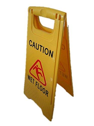 Generic doble cara de precaución por suelo mojado cartel de ...