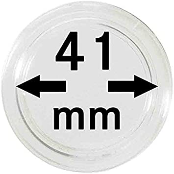 47mm Large Coin Capsules 10 Lighthouse High Quality Scratch Resist Holders NEW