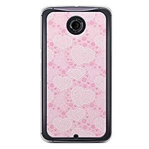 Loud Universe Nexus 6 2015 Love Valentine Printing Files A Valentine 168 Printed Transparent Edge Case - Pink