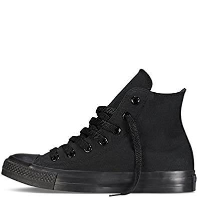 16d47087dc8d Image Unavailable. Image not available for. Color  Converse M9160  Chuck  Taylor All Star High Top Unisex Black White Sneakers ...