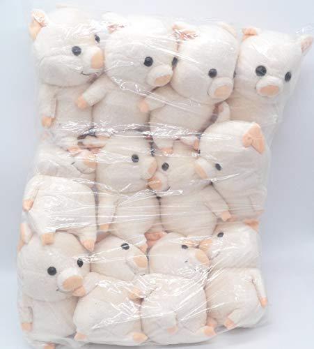 12 Adorable Pig Piggy Plush Toy Doll ~WHOLESALE~ PARTY FAVORS~ #2
