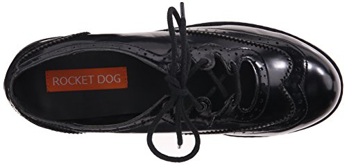 Melody Rocket Tuxedo Women's Pu Black Boxed Oxford Dog in OqwFPqvx