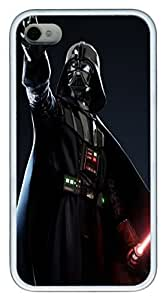 iPhone 4S Case and Cover Star Wars Darth Vader TPU Silicone Rubber Case Cover for iPhone 4 and iPhone 4s White by Maris's Diaryby Maris's Diary