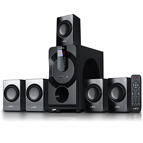 beFree Sound BFS-460 Channel Surround Sound Bluetooth Speaker System in Black by BEFREE SOUND