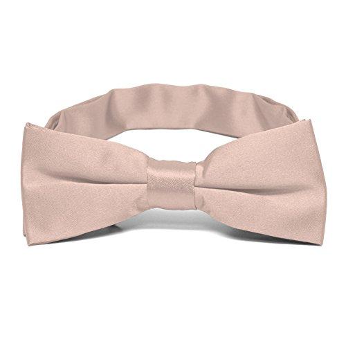 TieMart Boys' Blush Pink Bow Tie from tiemart