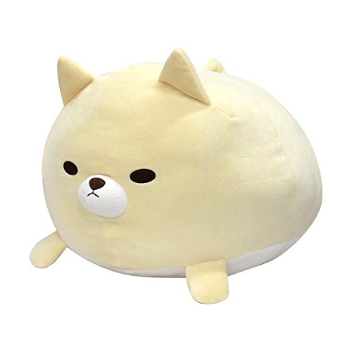 Tawaraken Fuwaitchichi, Akitainu, Cream dog, BIG Plush Stuffed Animals, 40~45cm, Imported from Japan