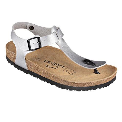 SynSoft Sandals Softbedded Normal N Soft JOE Footbed JOYCE Lima Silver wTqx1tZ