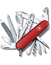 Victorinox scyzoryk Handyman (24 funkcje, kombinerki, dłuto do drewna, piła metalowa) czerwony