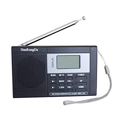 Topfire Portable Full-Band Digital Tuning Multiband Stereo Tuner MW/AM/FM/SW Shortwave Radio REC Control Receiver