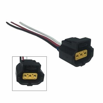 amazon com new repair plug harness pigtail connector 3 wire pin fornew repair plug harness pigtail connector 3 wire pin for 6g ford alternator