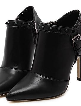 Mujer Botines Zapatos – Botas – Vestido mujer – piel sintética – Stöckel Super tacón –