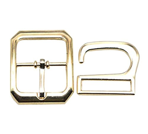 2 Pairs Metal Button,Adjustment Buckle,High Heel Leather Sandals Buckle,C03 by DRAGON SONIC