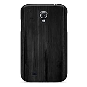 Hard Plastic Galaxy S4 Case Back Cover,hot Dark Wood Wall Case At Perfect Diy