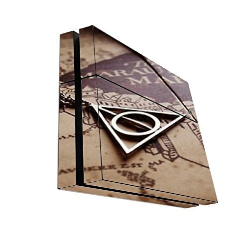> > > Decal STICKER < < < The Marauders Map Design Print Image Playstation 4 PS4 Console Vinyl Decal Sticker Skin by Trendy Accessories by Trendy Accessories