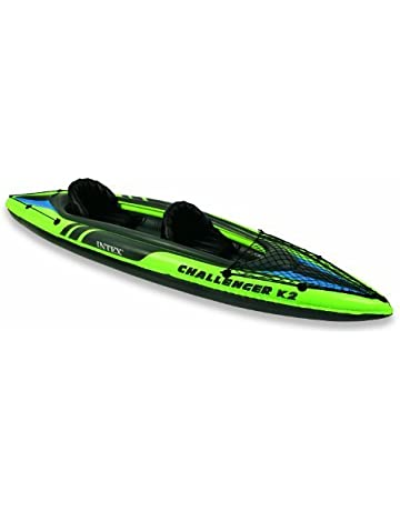 1cb8096ff6aeed 68306 Canoa gonfiabile INTEX per due persone Challenger K2 Kayak 351x76 cm