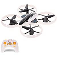JXD 522 Neon Altitude Hold Drone Headless Mode 3D Flip LED Light RC Quadcopter Toy Kids Gift