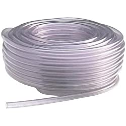 "5 FEET OF 1/4"" TUBING HOSE FOR AUTOMATIC RABBIT NIPPLE DRINKERS WATERERS PVC"