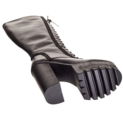 Banned - Botas para mujer negro negro One Size negro