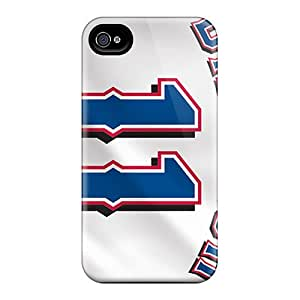 Iphone 4/4s FCm1152LjdF Customized High-definition Texas Rangers Pattern Shock Absorption Hard Phone Cases -InesWeldon