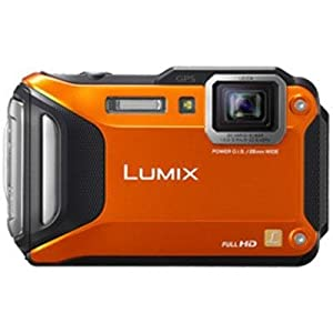 Panasonic Lumix DMC-FT5 Tough Shock & Waterproof Wi-Fi GPS Digital Camera (Orange)