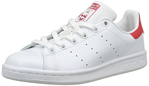 adidas Footwear Originals Stan Blanco Deporte de Unisex White Running Collegiate White Adulto Footwear Zapatillas Running Red Smith rrqwPS