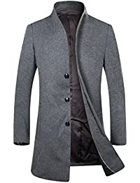 Long Wool Coat Mens KYOOon