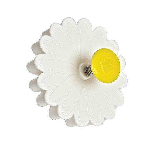 Bakelicious 73821 Daisy Plunger Cutter, White
