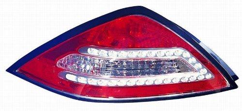 Depo 317-1956PCUSV Honda Accord Coupe Chrome LED Tail Light (Tail Accord Led Honda Depo)