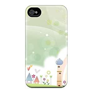 Premium Iphone 4/4s Case - Protective Skin - High Quality For Sweet Summer Scene