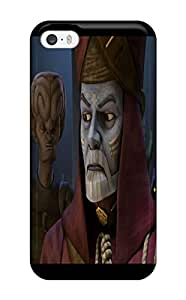 New HyTBESn12178wnmRg Star Wars Clone Wars Skin Case Cover Shatterproof Case For Iphone 5/5s