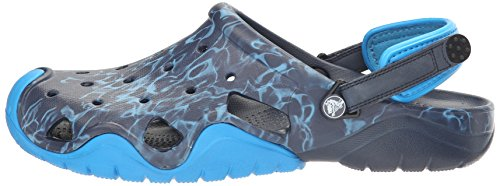 Pictures of Crocs Men's Swiftwater Graphic Clog M Mule 5.5 M US 5