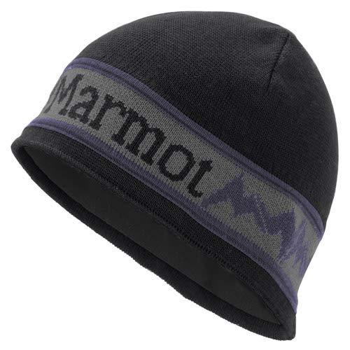 Marmot Fleece Beanie - Marmot Men's Spike Hat, Black, One Size