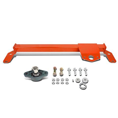 DNA Motoring Red BRR-010-RD Steering Box Stabilizer Bar [for 03-08 Dodge Ram 2500 3500 4WD] (Dodge Box Steering)