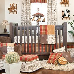 Carson 4 Piece Baby Crib Bedding Set with Bumper by Glenna Jean