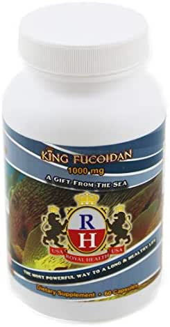 King Fucoidan 1000mg 90 Capsules