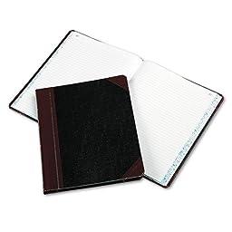 Boorum & Pease - Columnar Book, Record Rule, Black Cover, 150 Pages, 10 3/8 x 8 1/8 21-150-R (DMi EA