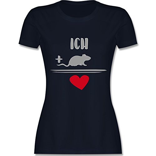 Statement Shirts - Ratten-Liebe - Damen T-Shirt Rundhals: Shirtracer:  Amazon.de: Bekleidung