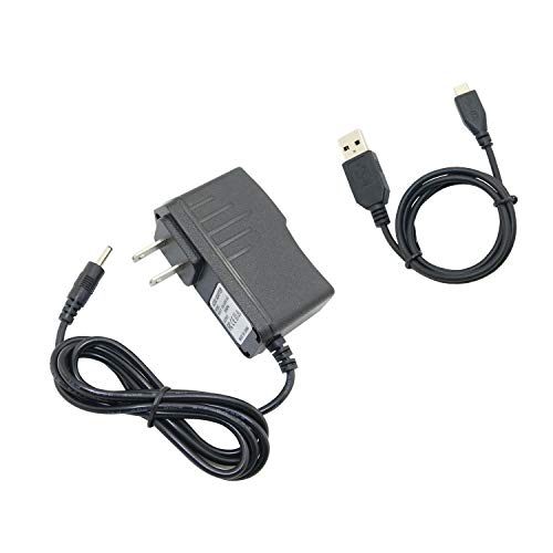 FidgetGear AC/DC Adapter Power Charger +USB Cord for HP 10 Plus J6F05UA 7 G2 J4Y28AA Tablet Show One Size