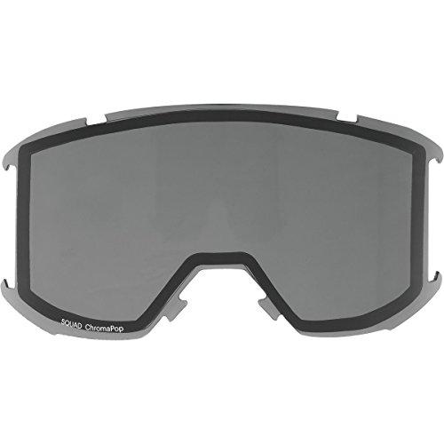 Smith Squad Replacement Goggle Lens ChromaPop Sun Black, One - Optics Lenses Smith Replacement