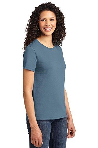 Autoridad Portuaria de puerto de la mujer & Company lpc61esencial camiseta Stonewshd Blue