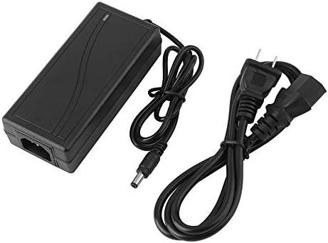 IBISHITAOXUNBAIHUOD 12V 5A 5.5mm 2.5mm 2.1mm AC DC Adaptador de Corriente Enchufe Negro Barril Conector para LED Strip Router inalámbrico