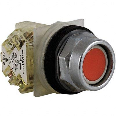 Square D Schneider Electric 9001KR2RH13 Push Button, 600VAC, 10A, 30MM, TK ()