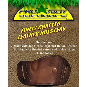 Pro-Tech Outdoors Brown Leather Beltslide Gun Holster for S&W M&P 45, Sigma Series by Pro-Tech Outdoors (Image #2)