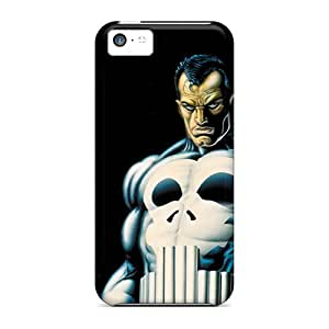 High Quality Mobile Case For Iphone 5c With Custom Realistic Punisher Pictures JasonPelletier