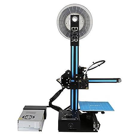 Impresoras 3D Creality Ender 2, Impresora 3D con Hotbed, tamaño de ...