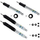 Bilstein 24-248730 & 24-249966 Pair of B8 5100 Front & Rear Monotube Shocks for 96-02 Toyota 4Runner